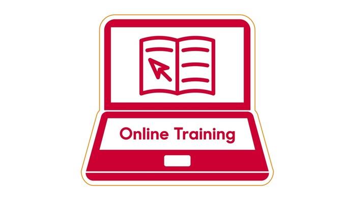 Glow-worm's online training logo