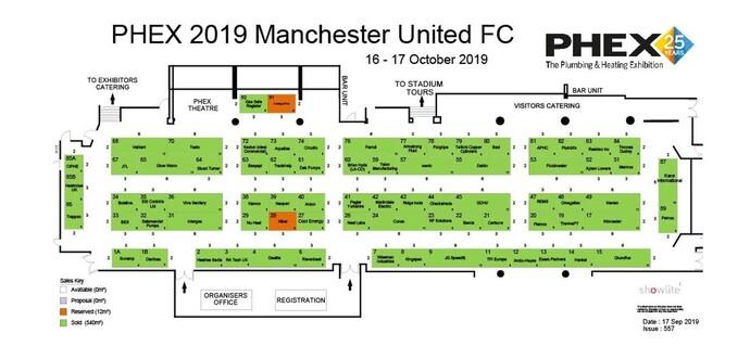 PHEX Manchester floorplan