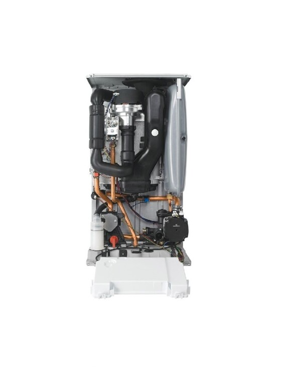 Energy system boiler internal front facing