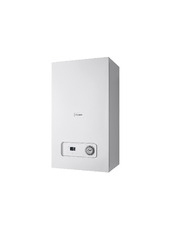 Essential combi boiler left side facing