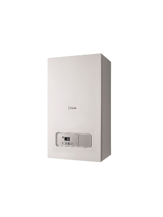 Ultimate₃ system boiler left side facing
